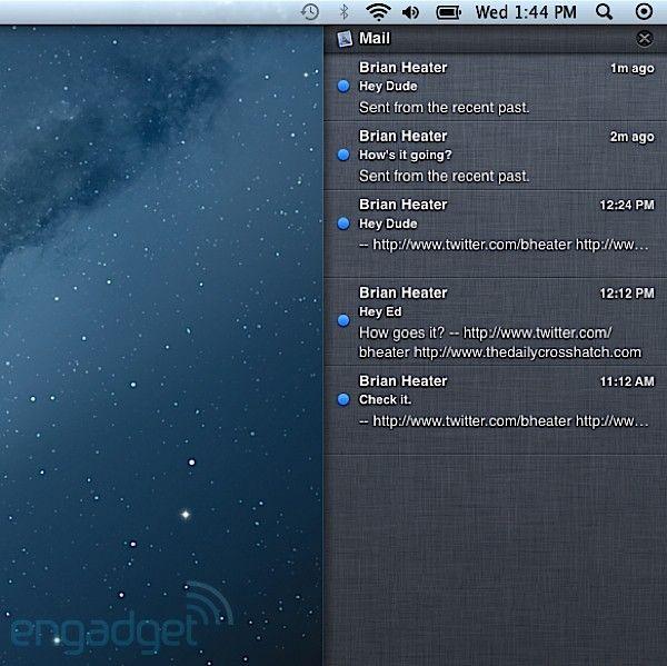 OSX Mountain Lion Preview