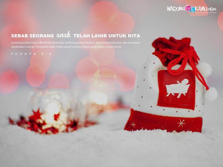 Wallpaper: Mengapa Merayakan Natal?