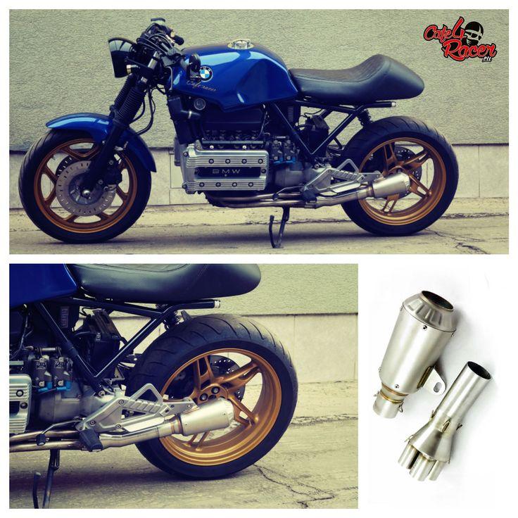 #BMW #K100 #muffler #caferacer #exhaust