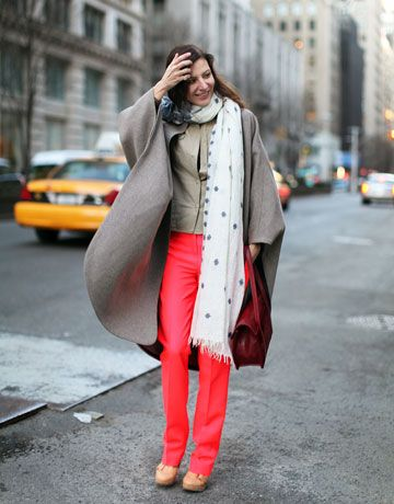 Another bright and neutral combo. Love!