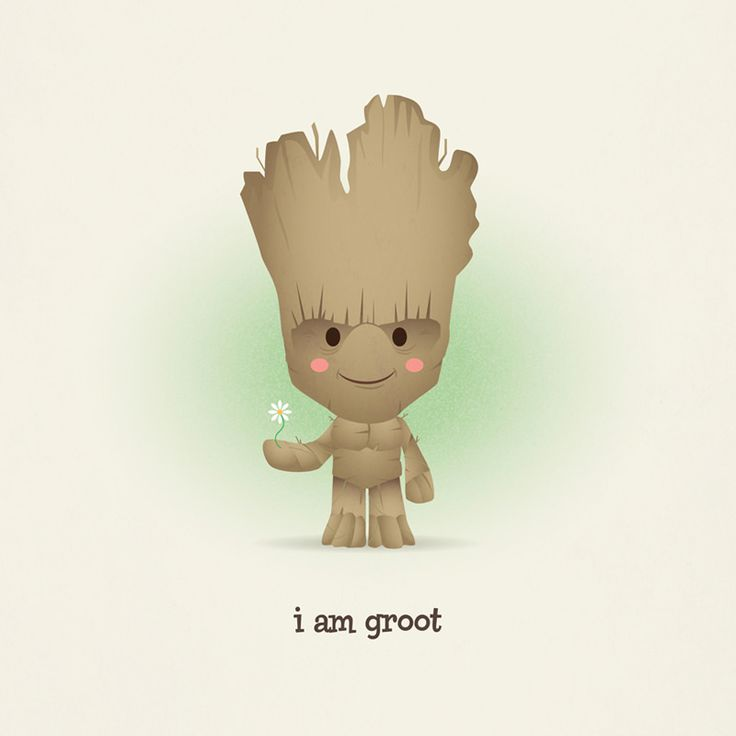 https://flic.kr/p/opg9ce | Kawaii Groot | Finally saw Guardians of the Galaxy over the weekend. Completely entertained by Chris Pratt and, of course, Groot!