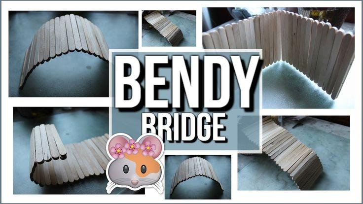 DIY Bendy Bridge | Pet Rodents - YouTube