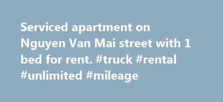 Serviced apartment on Nguyen Van Mai street with 1 bed for rent. #truck #rental #unlimited #mileage http://rentals.nef2.com/serviced-apartment-on-nguyen-van-mai-street-with-1-bed-for-rent-truck-rental-unlimited-mileage/  #room for rent # Serviced apartment on Nguyen Van Mai street with 1 bed for rent. Share this: For rent serviced apartment on Nguyen Van Mai street in district 3 with 1 separate bedroom, full of furniture, the large terrace to have a party and BBQ. For rent serviced apartment…
