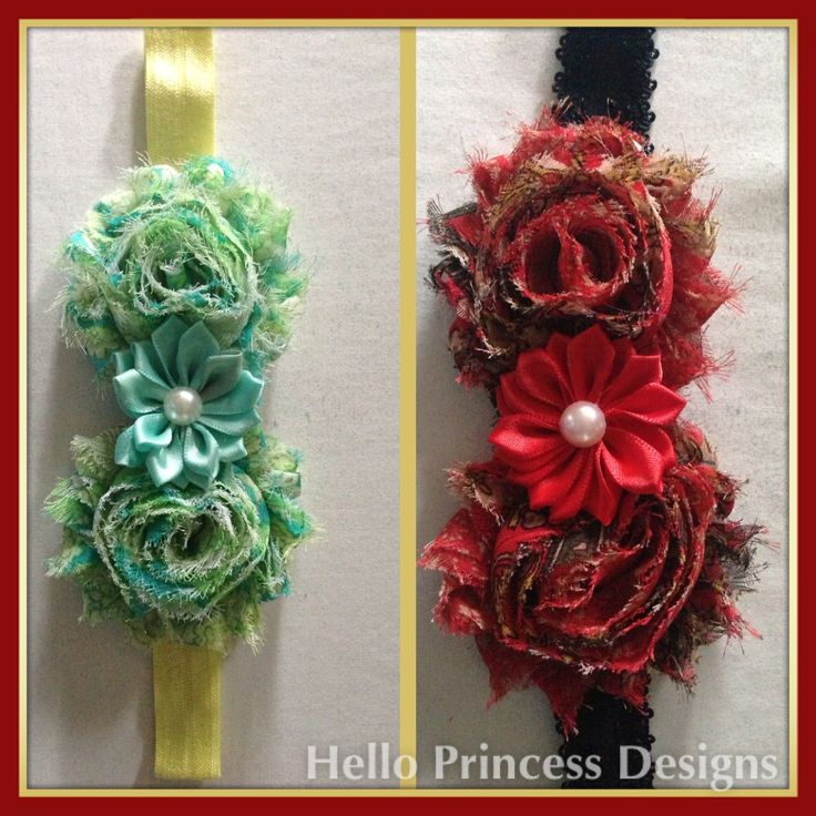 Pattern Hairbands