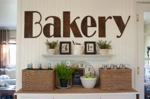 плоские буквы на стену в дизайне кафе и ресторанов