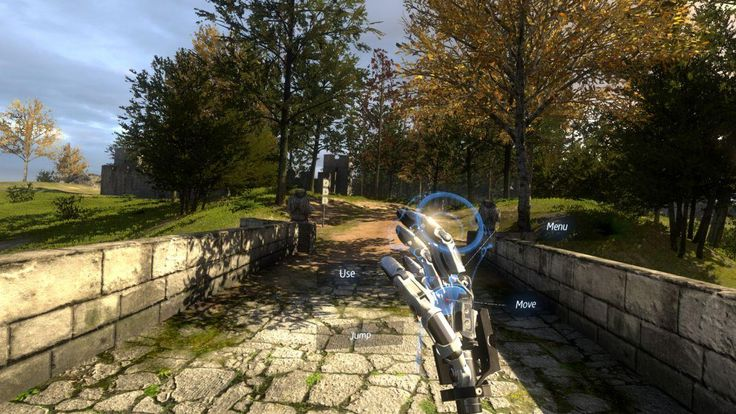 The Talos Principle was an amazing game, and a nigh-on perfect fit for a Virtual Reality version. #droneflying #virtualreality