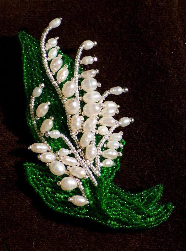 Pearls & seed beads - a wonderful combination!