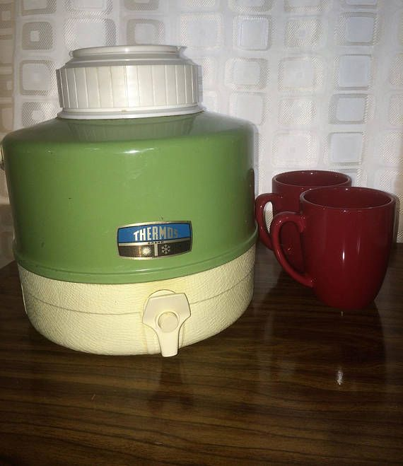 30% OFF SALEVintage Thermos Picnic Drink Cooler 1960's