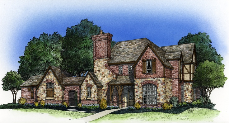 281 best images about european old world style homes for Old world european house plans