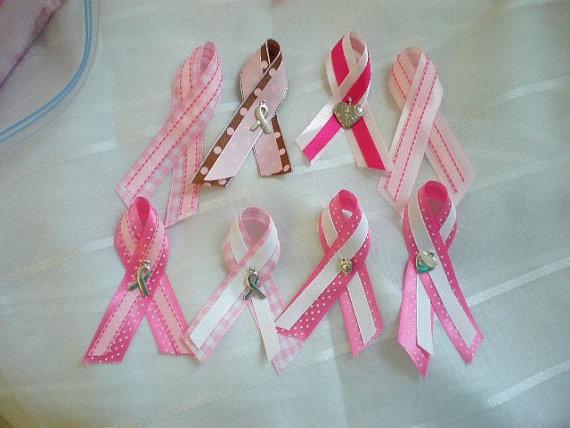 pink ribbon pin free shipping