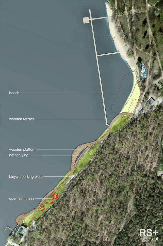 Galeria de Reurbanização da orla do lago Paprocany / RS+ - 21