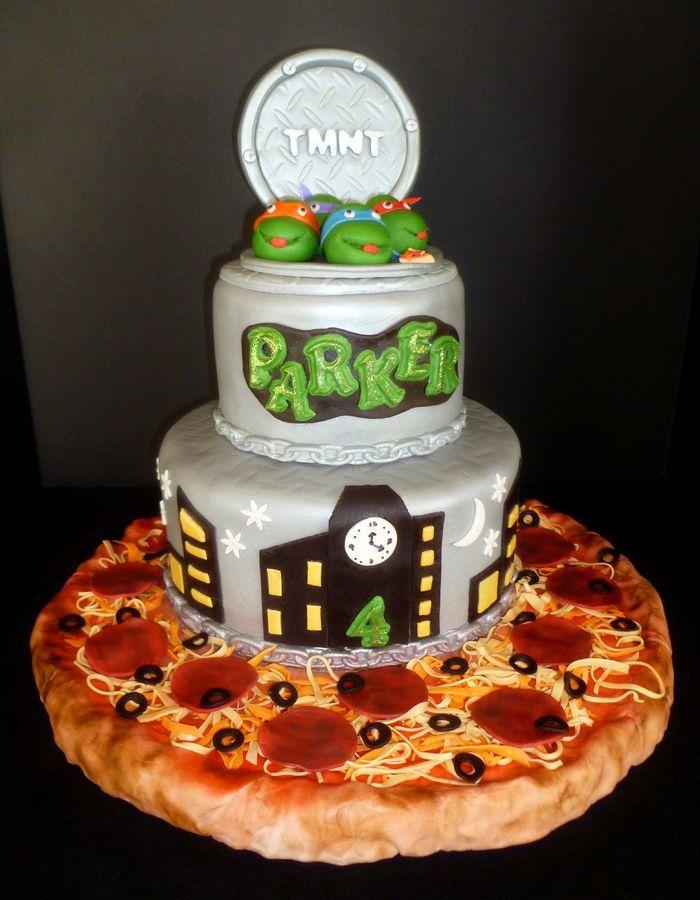 1000+ ideas about Ninja Turtle Cakes on Pinterest Tmnt ...