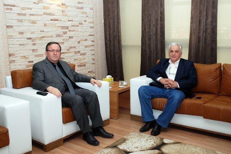 TÜBA başkanından Solak'a ziyaret