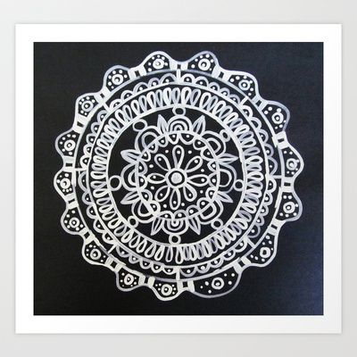 Medallion No. 8 Art Print by Patti Friday - $20.80