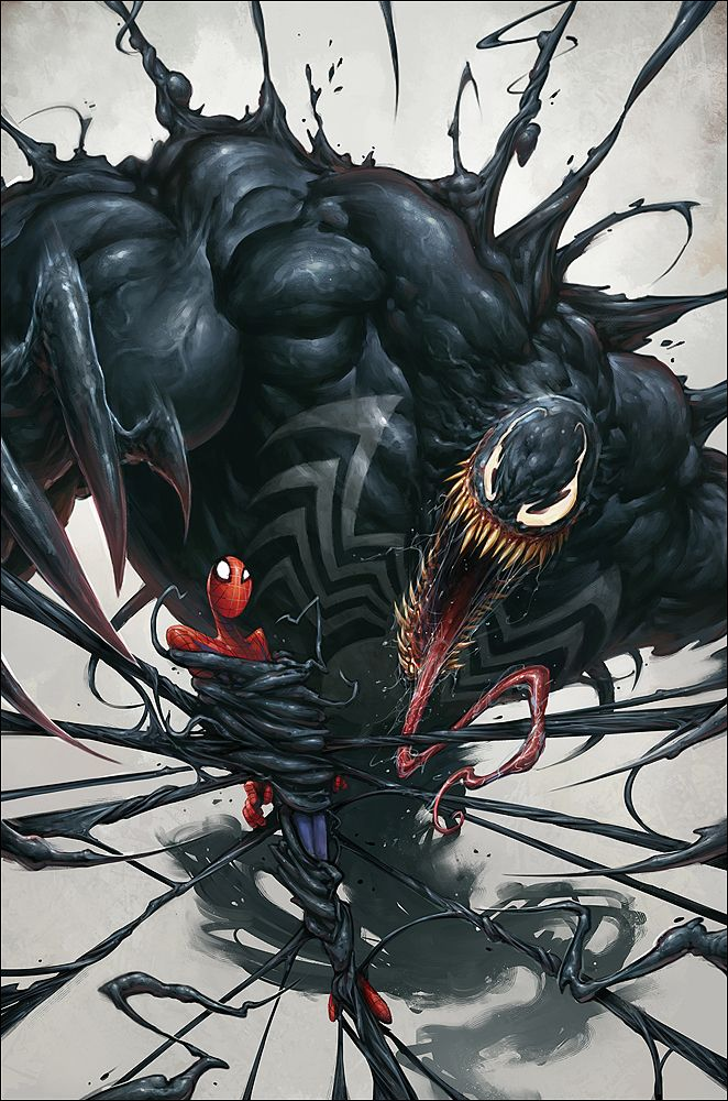 Spiderman & Venom by Ninja2ASSN