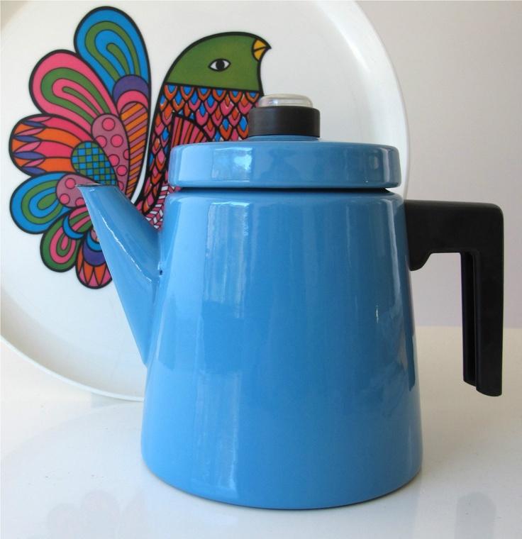Finnish Design: Coffee Pot/Percolator (Finel)