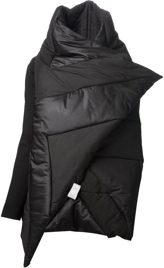 Gareth Pugh asymmetric padded jacket on shopstyle.com