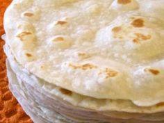 Receta de Tortillas de Harina hechas en casa