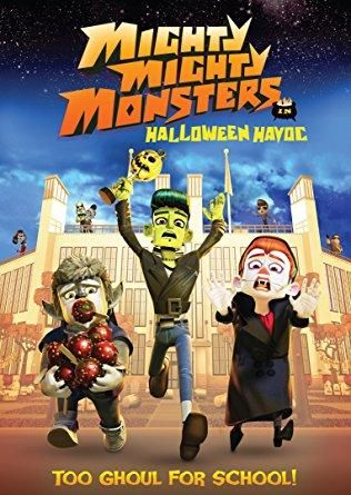 Kendra Anderson (voice) & Doug Abrahams (voice) & Adam Wood-Mighty Mighty Monsters - Halloween Havoc