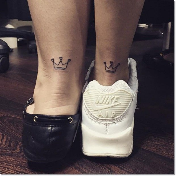 Little Crown for Sisters Tattoo – Inked – # for #Inked #small #Crown #Sisters