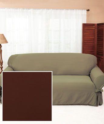 Tufted Sofa Chocolate Sofa Cover