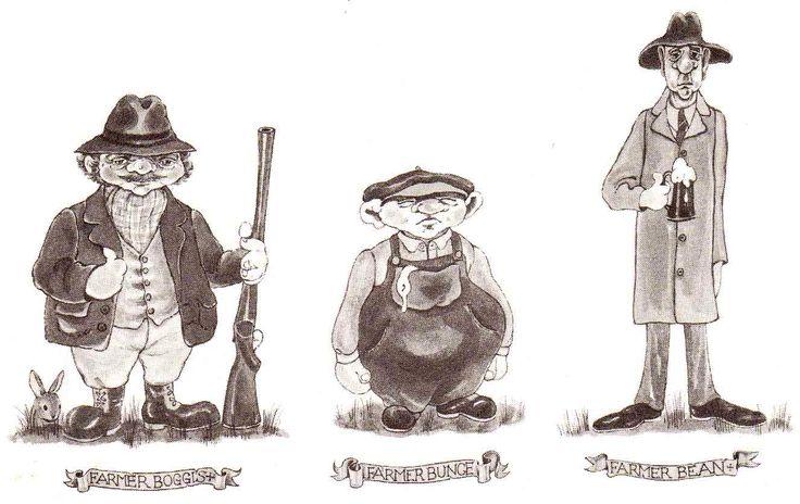 A  vintage illustration from Fantastic Mr. Fox!