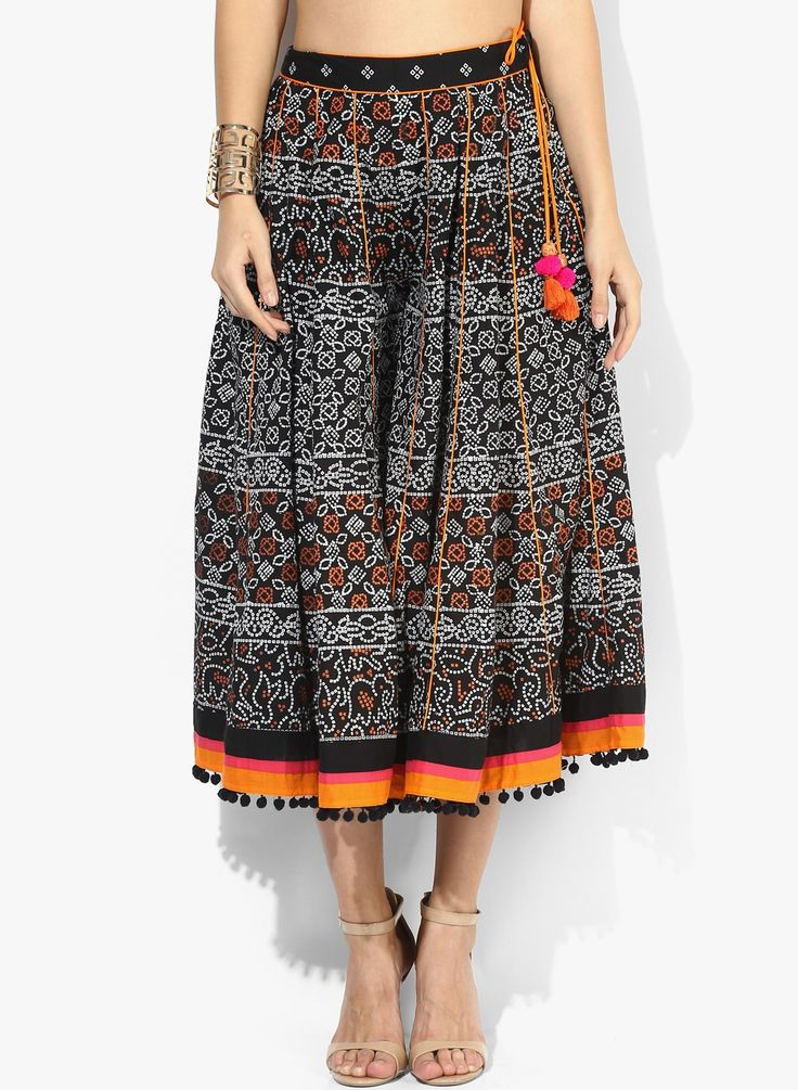 Rebuilding your connection with the rich ethnicity of India.. SHOP Sangria Trouser HERE---> http://www.jabongworld.com/black-trouser-2137442.html