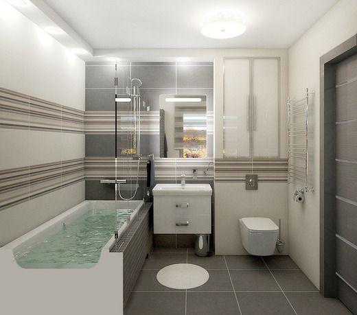 Квартира для молодого человека. Ванная