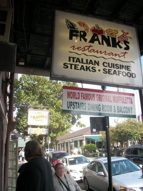 Frank's Restaurant on Decatur Street - New Orleans, LA http://dixiedining.wordpress.com/tag/franks-restaurant/