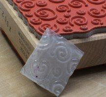 Shrink Plastic tips for Card Making