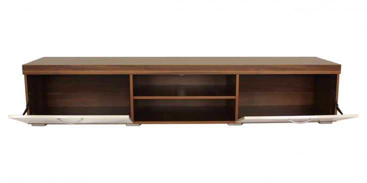 Riana KL-MIL-004 Milan TV Unit – White  - The Milan TV Unit is the perfect furniture piece for large screen televisions to be proudly and safely displayed. The 2.0m Milan unit will safely hold screens up to 88 inches in size and the 1.4m Milan unit can hold screens up to 65 inches.