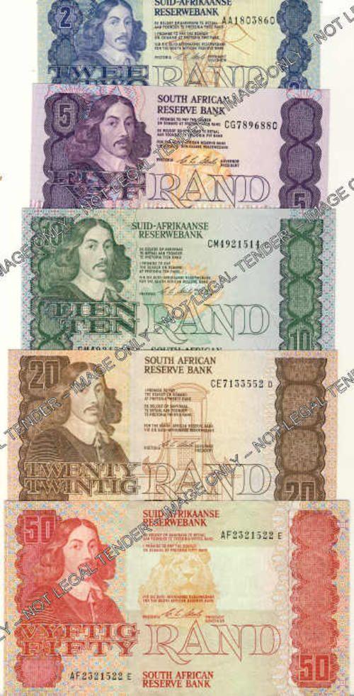 Old SA currency