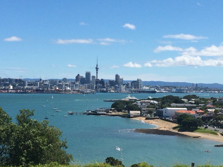 Auckland City from North Head, Devonport