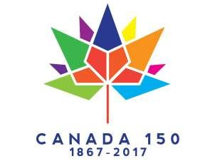 Canada 150 logo. (supplied by Department of Canadian Heritage)