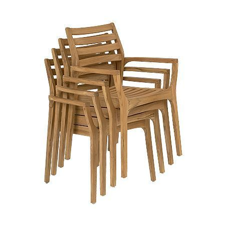 Volonne Chair- This stunning chair is also stackable.