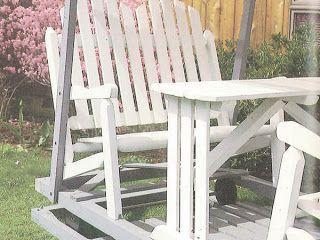 Ah! E se falando em madeira...: projeto cadeira de jardim