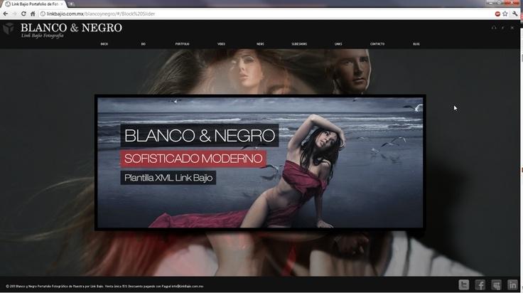 Blanco y negro porfafolio de fotografía profesional Diseño Web de calidad | Link Bajío