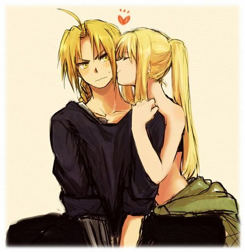 Winry and Ed. I ship it!