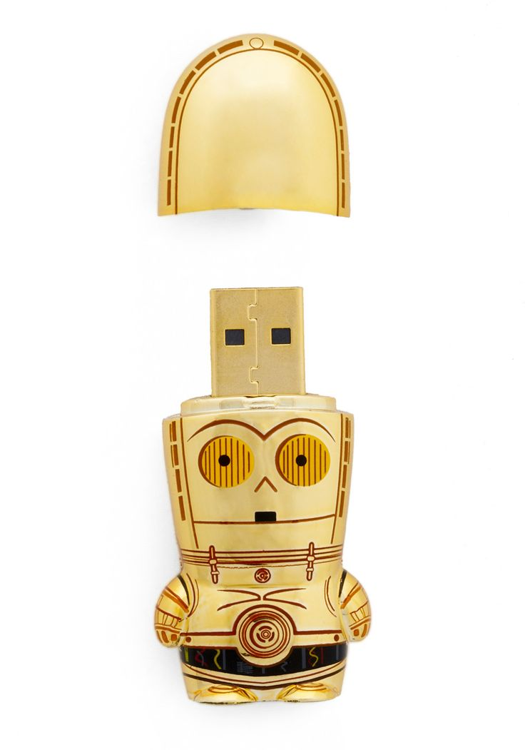 USB flash drive in c-3po.