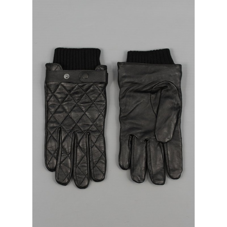 Barbour Quilted Leather Gloves Black | CLOTHES+MORE | Pinterest ... : barbour quilted gloves - Adamdwight.com