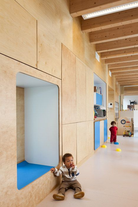 Pin By Interior Designer In A Box On Kids Teenager: Daycare Centre Near Brussels Features Child-size Furniture