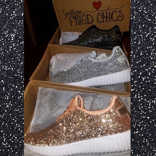 Glitter Bomb Sneakers - Black