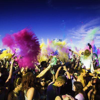 Holi Festival Of Colours in Europe - HOLI FESTIVAL OF COLOURS