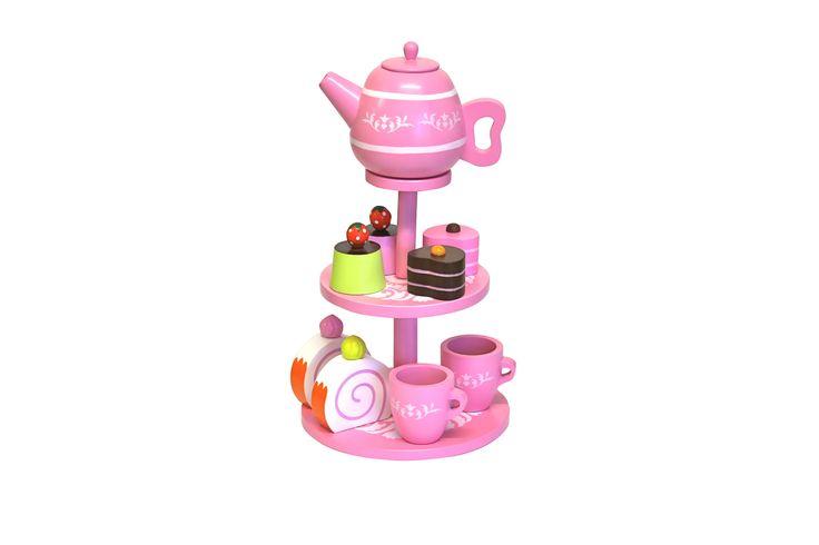 makes me hungry! High Tea Set from DiscoveroO. www.discoveroo.com