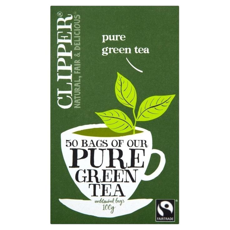 Clipper Fairtrade Pure Green Tea (50) - Pack of 2 *** Check out this great product. (This is an affiliate link and I receive a commission for the sales)