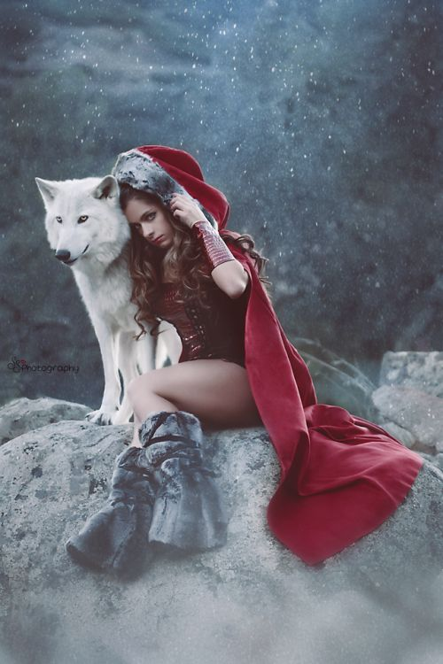 Photographer: SS PhotographyModel: Michelle Jacot - Model Wolf: Damu with Project WildsongH/MUA: Andy Calero Professional Hairstylist and Makeup Artist Welcome to Gothic and Amazing   www.gothicandamazing.org