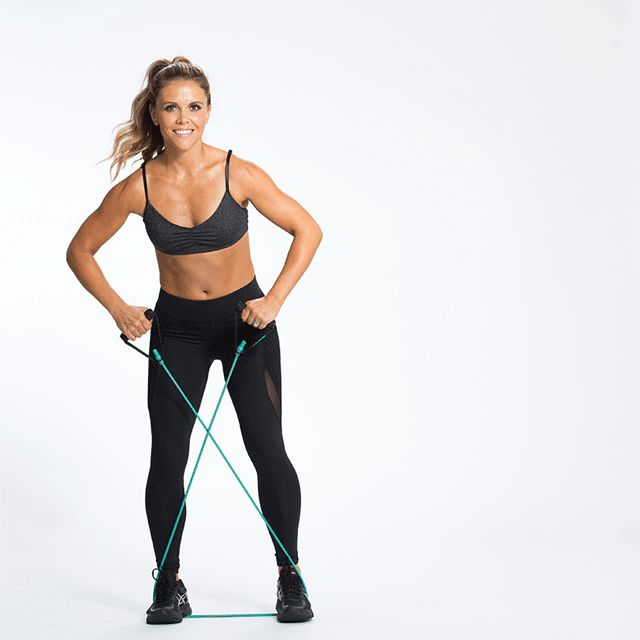 Katrina-Band-Walks daily summer workout for free from toneitup.com