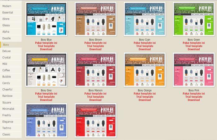 Template Design TOI | Toko Online Instant Siap Pakai | Toko Online Fitur Lengkap | Buat Toko Online