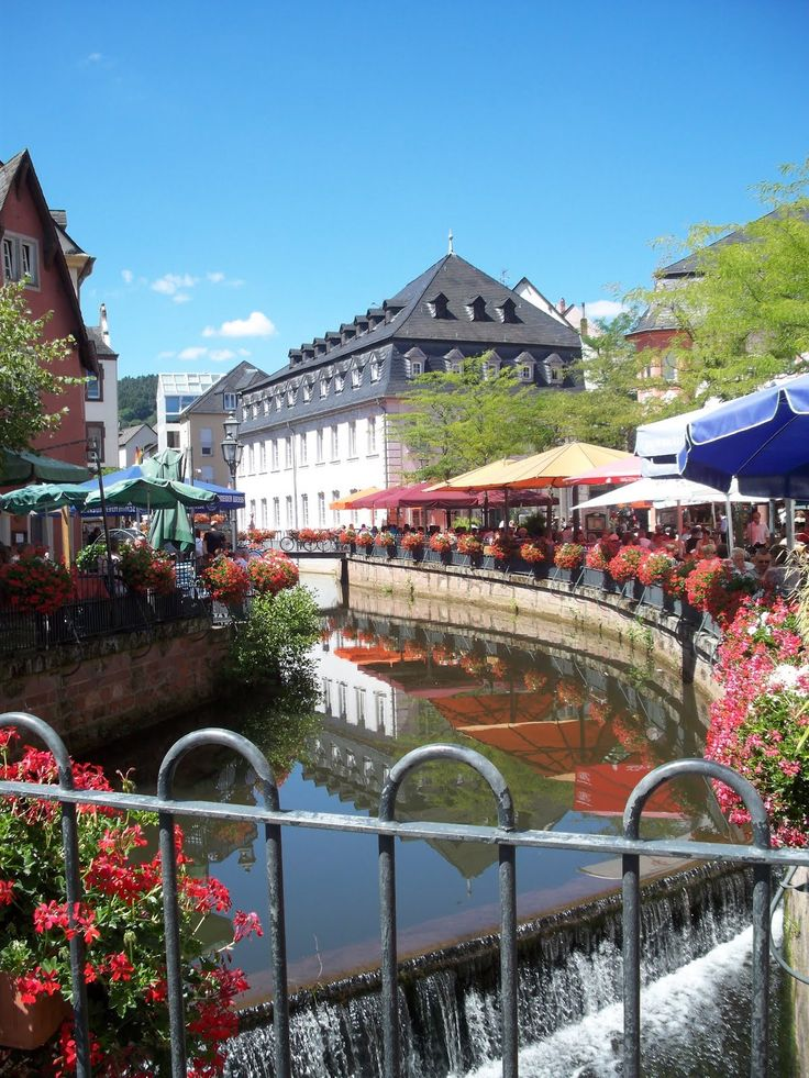 Saarbrücken, Germany, is the capital of the state of ...