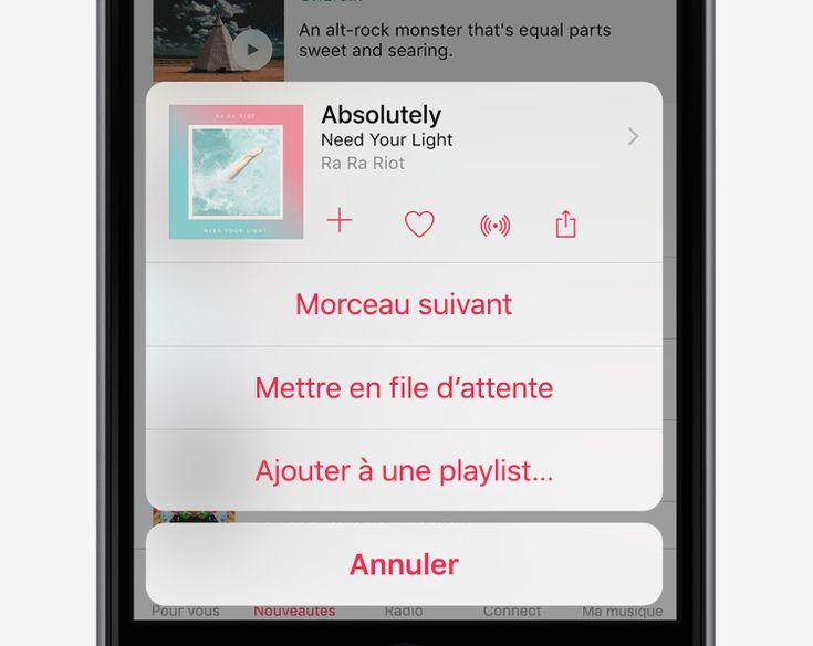 Écouter AppleMusic hors ligne - Conseils et astuces pour iOS9 sur iPhone - Assistance Apple